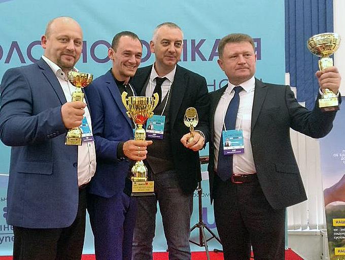 Володимир Федоришин, Роман Колонтай, Сергій Горищак та Григорій Оксак