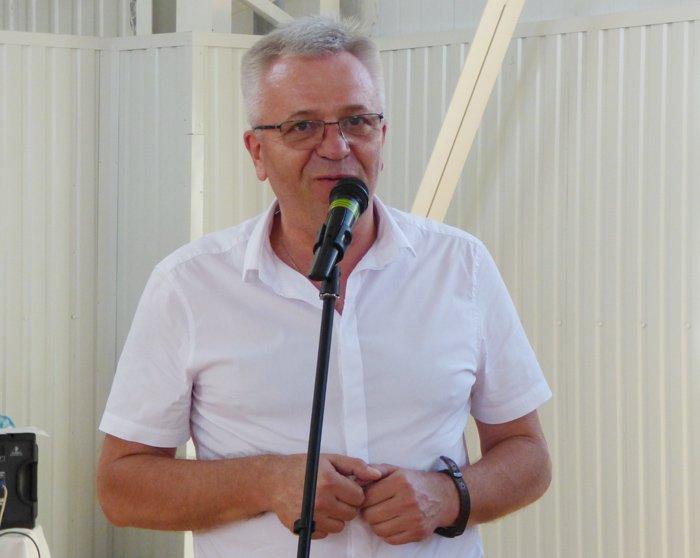 Голова федерації волейболу Одеської області Олександр Остапенко